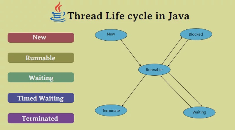 Життєвий цикл потоку в Java
