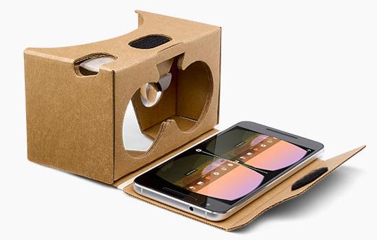 Google відкрив напрацювання, пов'язані з технологією віртуальної реальності Cardboard